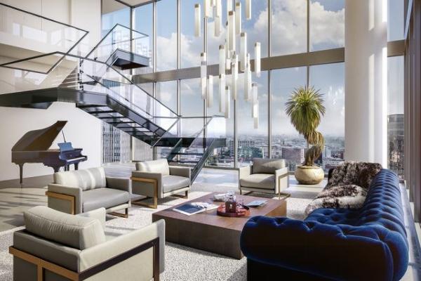 Thiết kế nội thất Penthouse đẹp